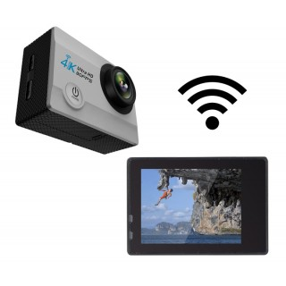 Cámara 4K waterproof con wifi