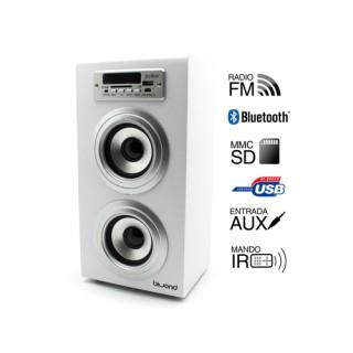 Reproductor altavoz Joybox con bluetooth, usb, léctor SD, MMC, MINIJACK y radio